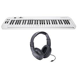 Samson Carbon 61 Key USB MIDI DJ Keyboard Controller + Software + Headphones