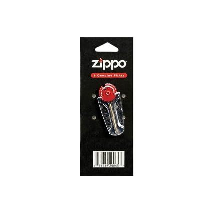 Zippo - Piedras de recambio para encendedor Zippo (6 unidades, en blíster)