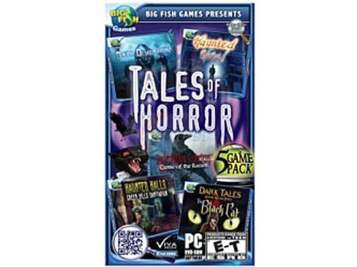 Big Fish Games Tales of Horror 5-Pack (Hidden Objects Computer Games)