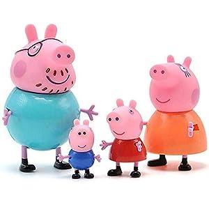 HOMULLS® Pig Family Toy, Set...