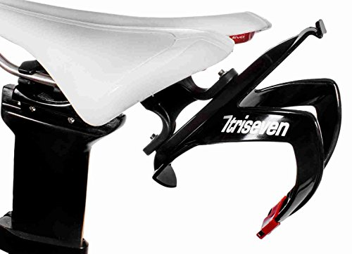 triseven Rear Carrier System - Lightweight for Cycling, Triathlon and MTB | Easy to Mount & Holds 1 Water Bottle Cage | Includes Complimentary Composite Water Cage! by triseven
