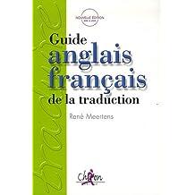 Guide anglais français de la traduction