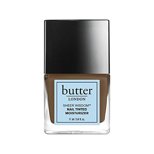 butter LONDON Sheer Wisdom Nail Tinted Moisturizer, Deep