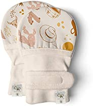 Goumimitts, Scratch Free Baby Mittens, Organic Soft Stay On Unisex Mittens