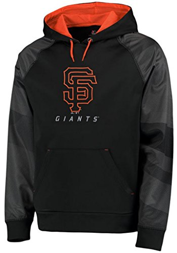VF San Francisco Giants MLB Majestic Mens Armor Therma Base Hoodie Black Size 6XL San Francisco Giants Hooded Pullover