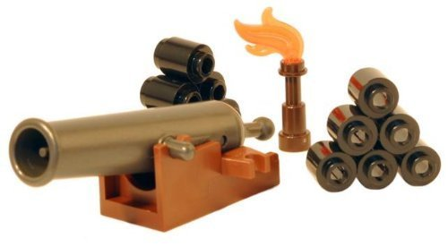 LEGO Cannon Pack - LEGO Pirates Castle Minifigure Accessories