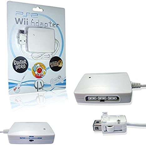 SATKIT Adaptador 3 en 1 mandos PS2 para mando remoto Wii (mandos ...