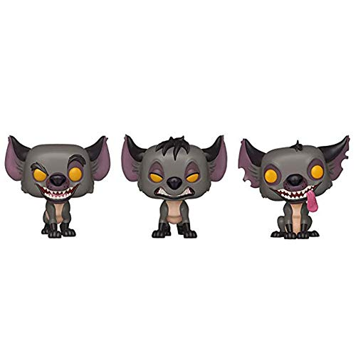 Fenfen-toy 3Pcs / Set Hyenas Banzai Shenzi & Ed Figura