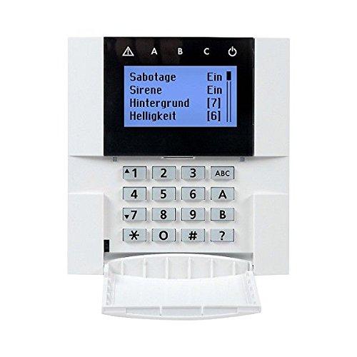 INDEXA Funk-Bedienteil farbigem LCD-Display 8001 F /RGB