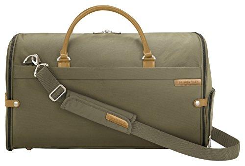 Briggs & Riley Baseline Suiter Duffle, Olive - & Riley Briggs Baseline Luggage