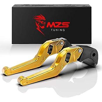 GZYF 2pcs Short Brake Clutch Levers Fits Honda CBR600F3 95-98 /& CBR900RR 93-99