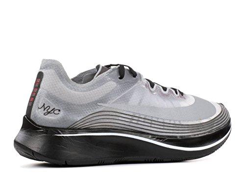 Nike Nikelab Zoom Fly Nyc Nero, Nero-bianco