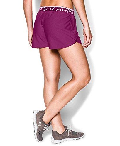 Under Armour Women's UA Play Up Shorts Medium Aubergine