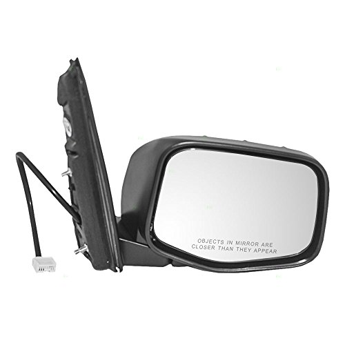 Passengers Power Side View Mirror Heated Replacement for Honda Odyssey Van 76200-TK8-A11ZA (Heated Power Van Mirror)