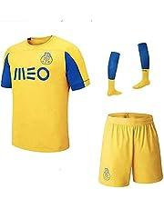Personalizar 2019/2020 (Local y Visitante) Traje de Jersey de Fútbol con Nombre + Número - Camiseta de Fútbol Personalizada Jersey de Fútbol de Club UEFA para Niños/Jóvenes/Hombres (Enviar Calcetines)