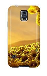 Nafeesa J. Hopkins's Shop Best Fashionable Style Case Cover Skin For Galaxy S5- Sun Flower World Hd