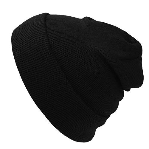Cap911 Unisex Plain 12 inch long Beanie - Many Colors ()