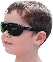 JAN & JUL Kids UV-400 Polarized Sun-glasses with Strap (M: 6m-6Y, Bl