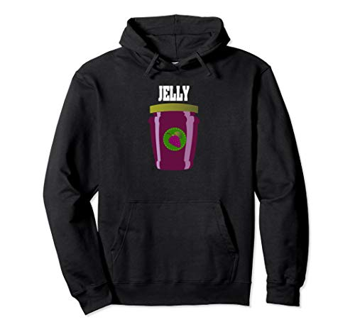 Jelly Halloween Costume Couples Hoodie Add Peanut