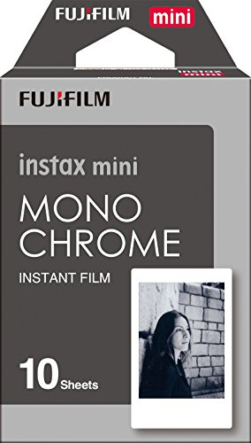 Fujifilm Instax Mini Monochrome Film 10 Exposures (Large Image)