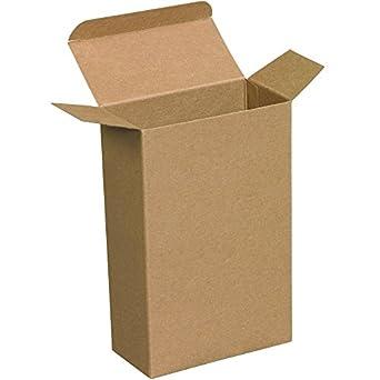 Amazon.com: aviditi rtd7 Reverse Tuck Cajas plegables, 4 5/8 ...