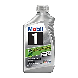 Mobil 1 121218 0W-30 ESP Motor Oil - 1 Quart (Pack of 6)