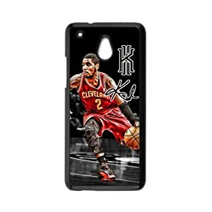 COOL phone case,For black plastic HTC One Mini case with Kyrie Irving #2 All-Star Basketball Pattern at Run horse store