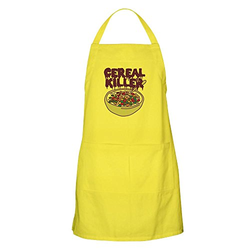 Killer Chef Costumes (CafePress - Cereal Killer - Kitchen Apron with Pockets, Grilling Apron, Baking Apron)