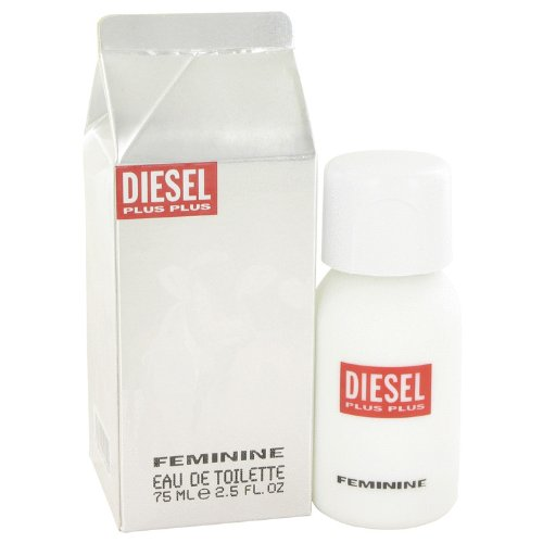 Price comparison product image Plus Plus Feminine by Diesel 2.5 oz Eau de Toilette Spray New in Box (Women)