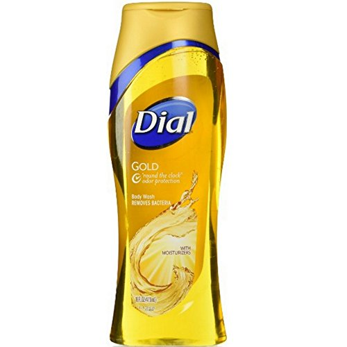 Dial Gold Body Wash With Moisturizers 16 Ounce