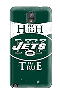Fashion Protective New York Jets Case Cover For Galaxy Note 3