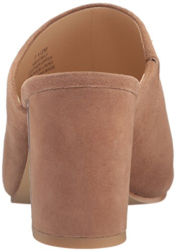 Nine West Womens Gemily Suede Mule Dark Natural 6uDnIgzlX