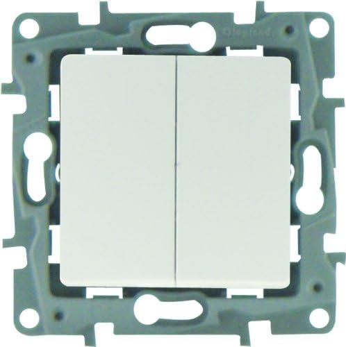 Legrand Niloe LEG96606 - Conmutador y pulsador, color blanco: Amazon.es: Bricolaje y herramientas
