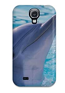 Charejen Design High Quality Dolphins Cover Case With Excellent Style For Galaxy S4
