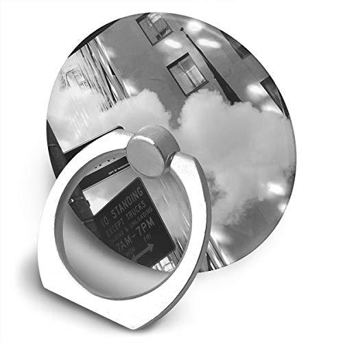Cell Phone Finger Ring Holder Street Sign 360 Degree Rotating Stand Grip Mount Phone Bracket
