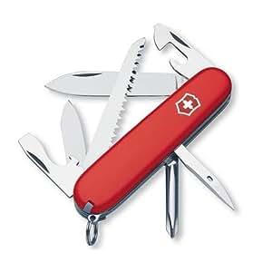 Victorinox Hiker 1.4613 - Navaja suiza (11 funciones), color rojo
