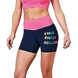 bb4a3692cc1b CAJUBRASIL Running Shorts Focus 9007 Navy Pink Women s Cute Workout Clothes  (Large)
