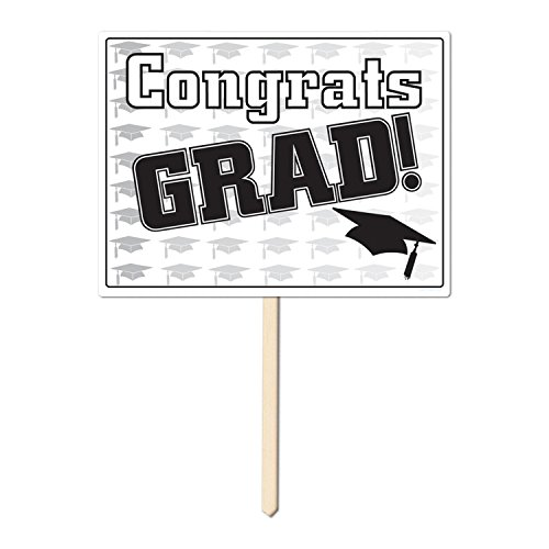 Congrats Grad Yard Sign - 9