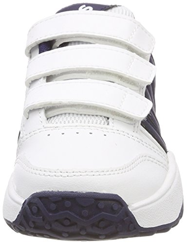 Navy Enfant de Performance Smash Mixte KS Strap Blanc Tennis Chaussures White Swiss Court K 37 Tfw CgSww