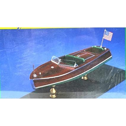 Amazoncom 1949 Chris Craft Racer Wooden Boat Kit By Dumas By Dumas