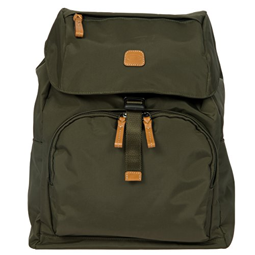 Bric's X-Bag/x-Travel 2.0 Excursion Laptop|Tablet Business Backpack, Olive, One Size by Bric's