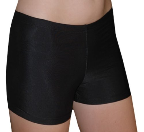 "Spandex Shorts , 6"" Inseam, Black, Medium"