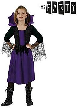 Atosa-24531 Disfraz Mujer Araña, Color Violeta, 3 a 4 años (AT ...