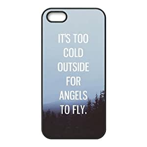 Ed Sheeran Quotes iphone 5 5S Cell Phone Case Black Phone Accessories JV1492G7