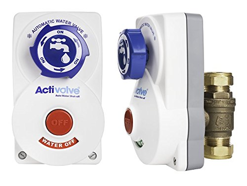 RUB cv19aa468e22u Activalve, Automatic Water Main Control Device to Protect Your Home From Water Damage and Freezing Pipes for 3/4