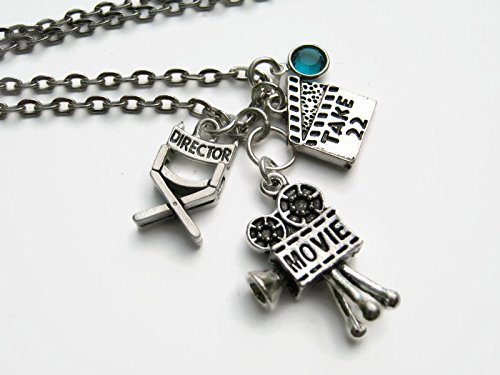 87fb811c0271 Image Unavailable. Image not available for. Color  Personalized Film  Director Necklace