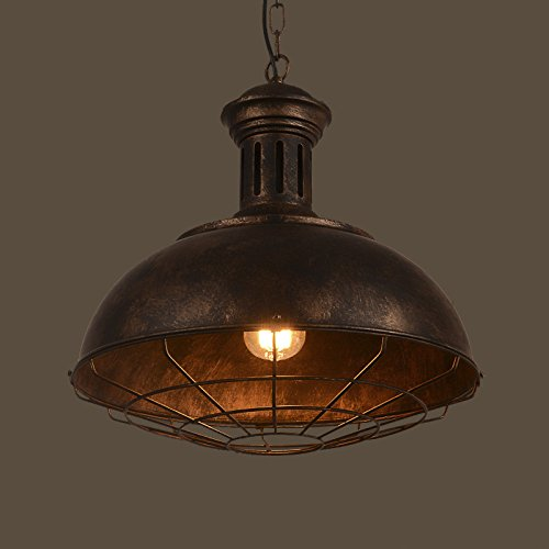 Industrial Nautical Barn Pendant Light-LITFAD Single