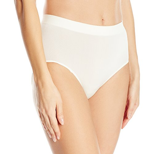 Wacoal Women's  B-Smooth Brief Pant, Ivory, XX-Large