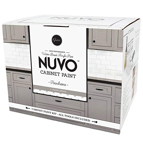 Nuvo Hearthstone All-in- All-in-One Cabinet Makeover Kit, Warm Greige