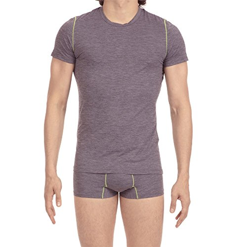 HOM Tee-Shirt Crew Neck 400565, Grey, XL